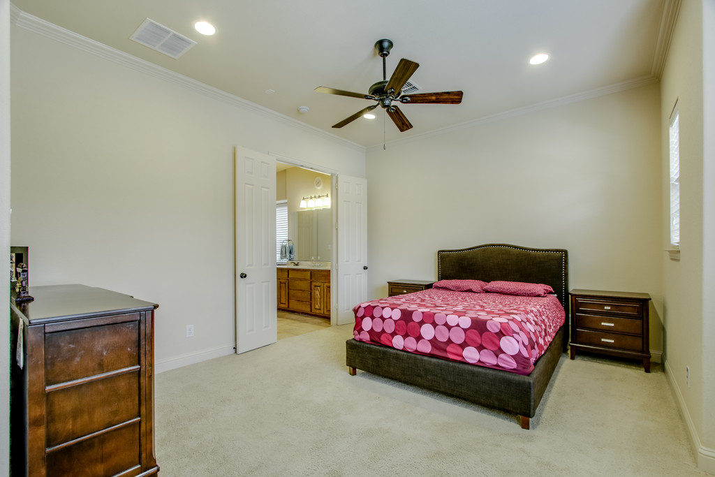 Spacious Master bedroom on 1st floor.