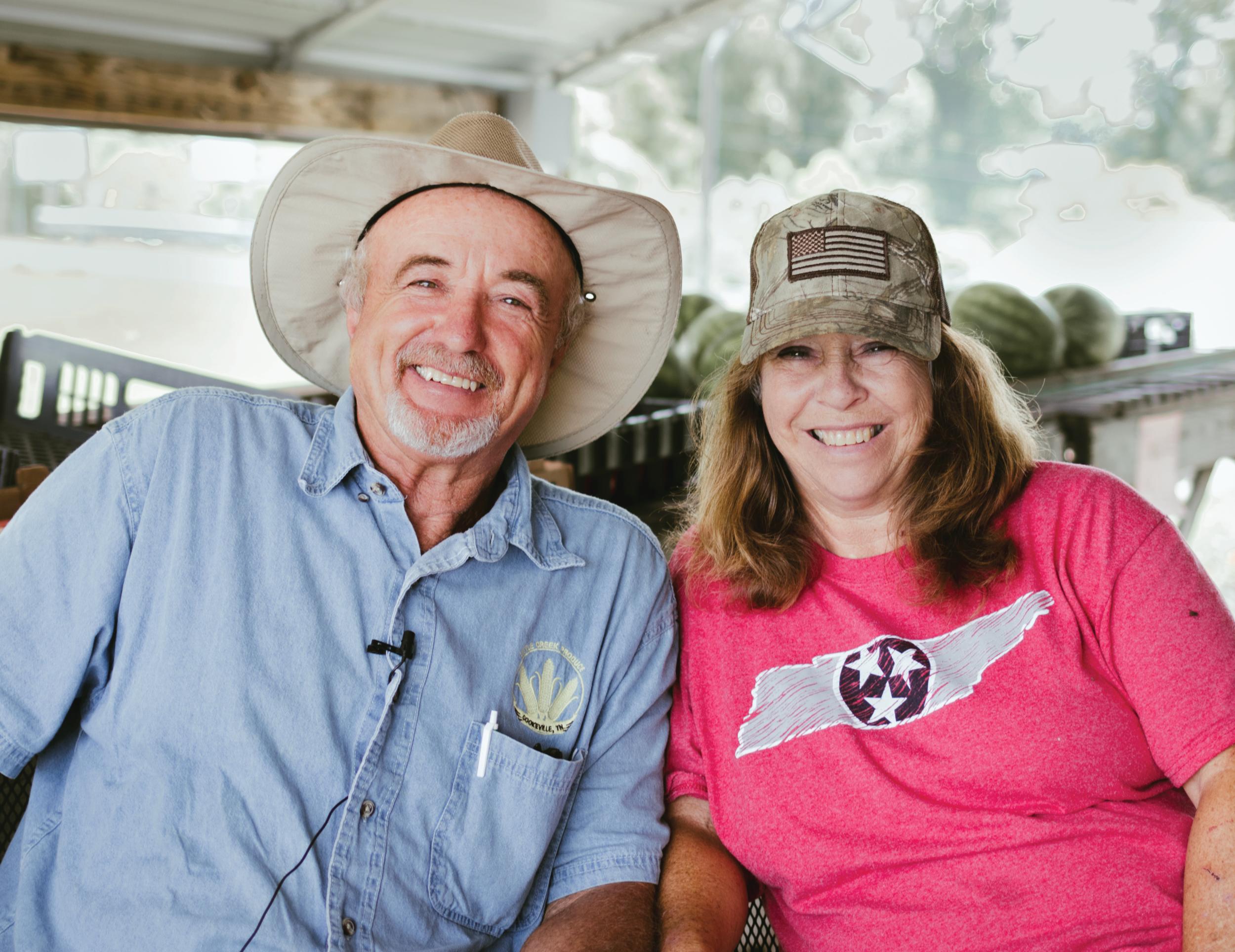 Wayne Moss Little Creek Produce SeedFork Farm to Fork Dinner Local Food Hero