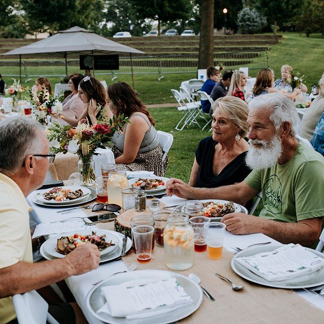 Our Farm to Fork Dinner is closely approaching! It's August 25th at 6:00pm. Tickets are $60 and available at the link in our bio!  Tag a friend who needs to go to this with you!