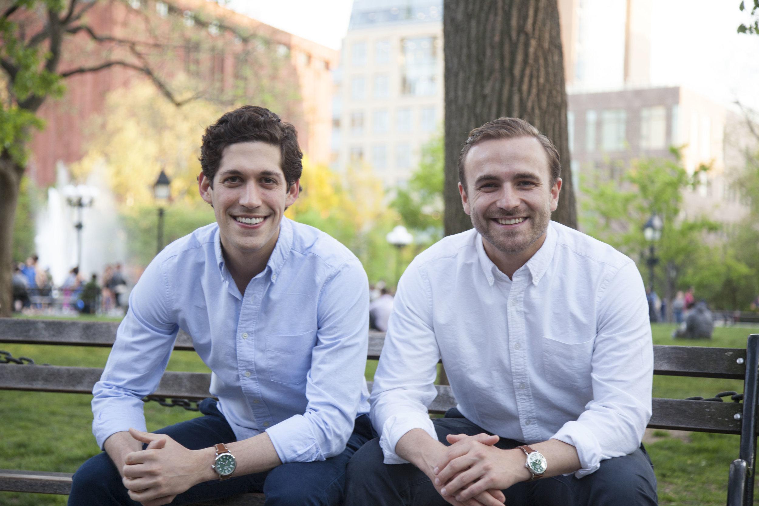 Nick Martell and Jack Kramer, Co-Founders of MarketSnacks