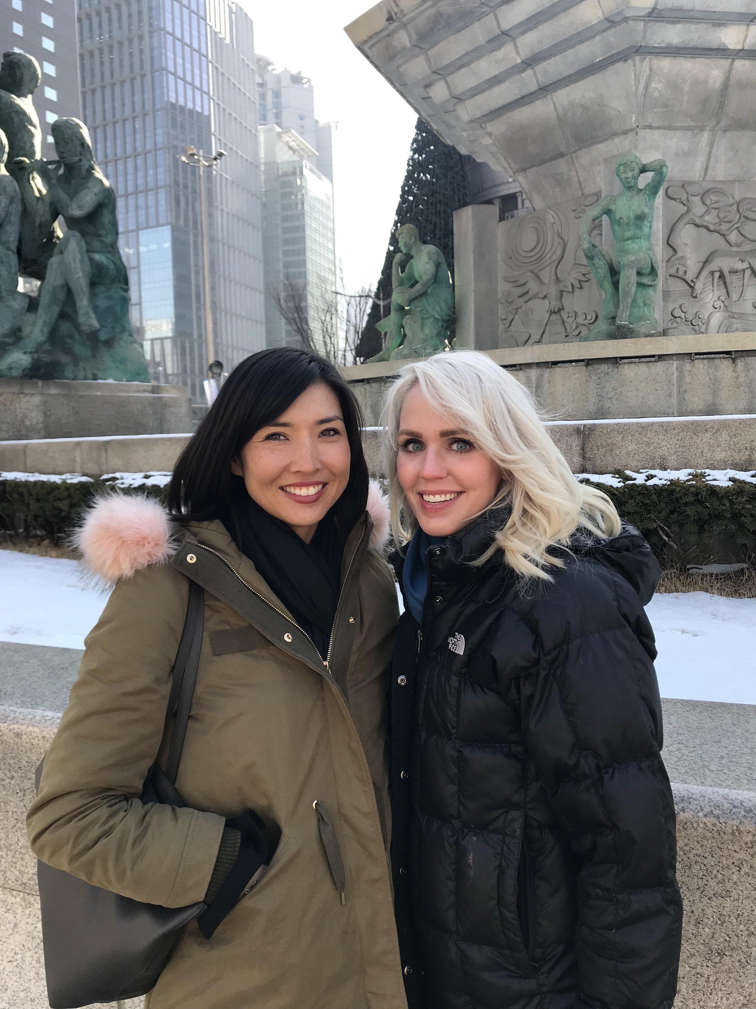 Lisa and Kayla
