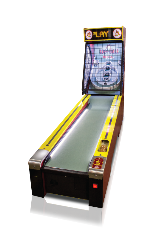 Skeeball   Same old-school skeeball game with a modern look and feel!  Dimensions: 76H x 31W x 155D