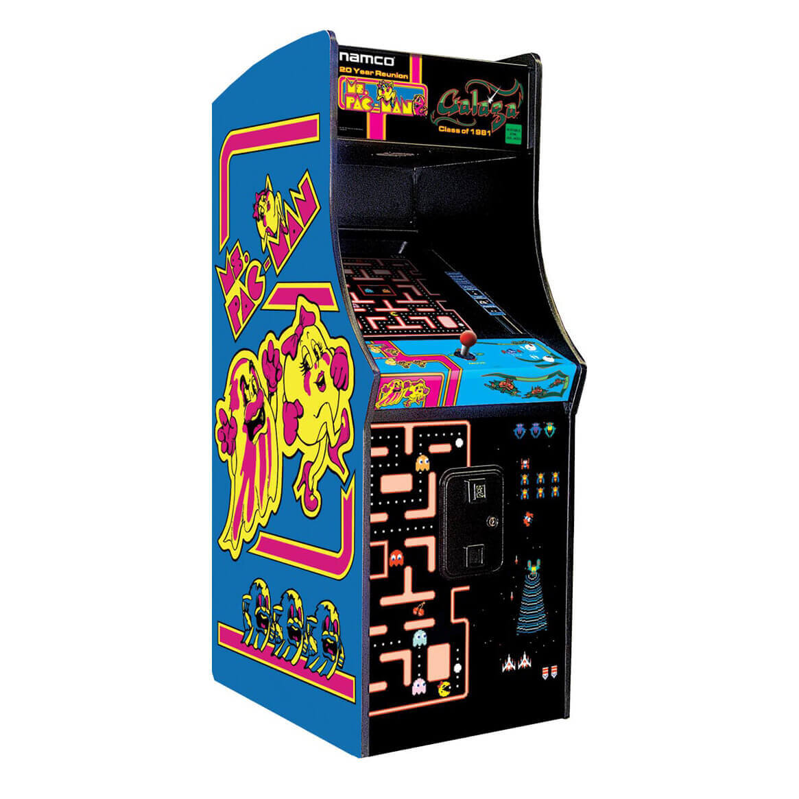 Mrs. Pacman / Galaga Combo   The combo over two of the classics in one cabinet!