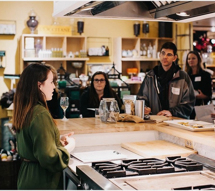 Speaker | Becky Hart from Event Crush  Venue | Provisions Market Hall  Event | Engaging Eugene