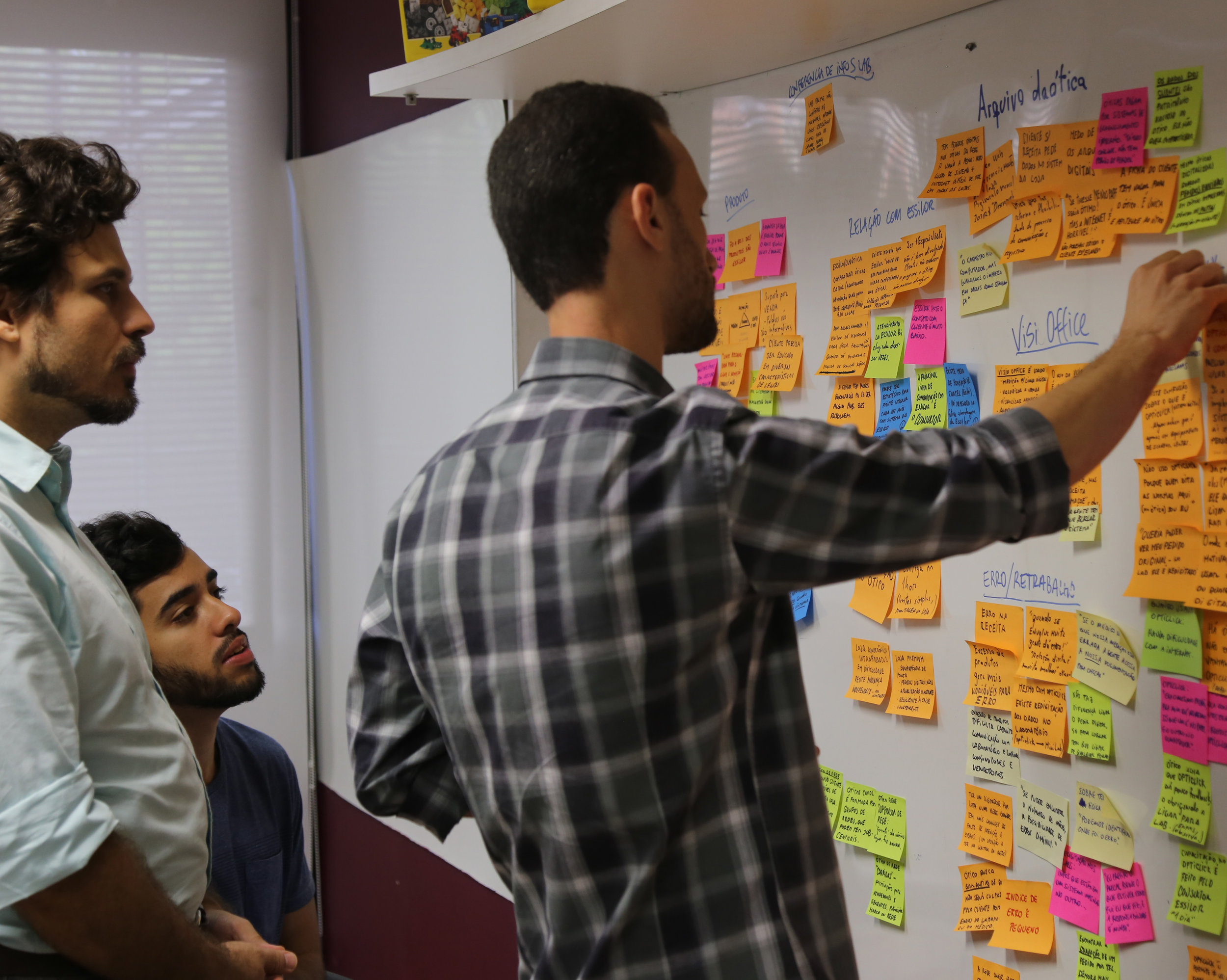 In house ideation process to coordinate innovation strategies for corporate clients.