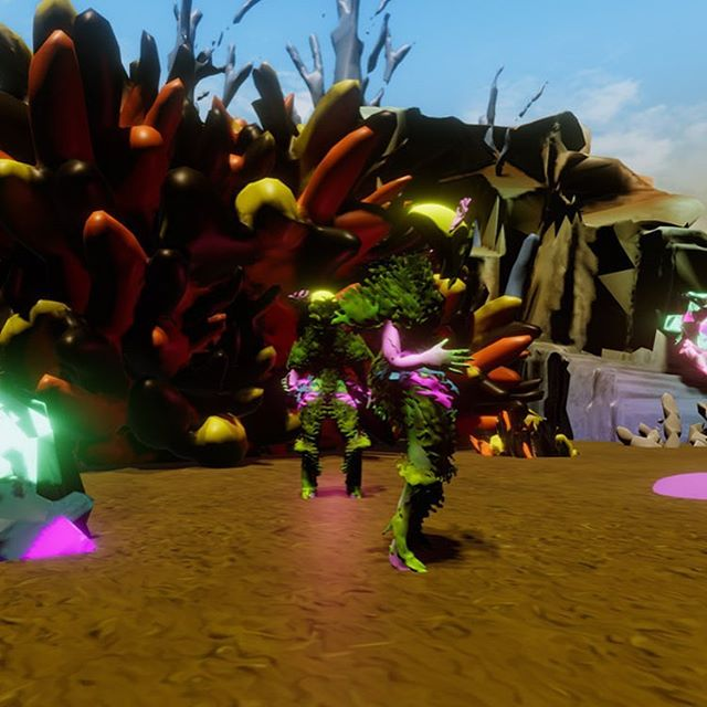 Day 86 - Deliciosa Dances the Baião  Added another dancer. This is dancing the Baião, original from the Brazilian Northeast.  Music : Foguete , Mariene de Castro #100daysitp #100days #hipercarnaval #100daysitp2019 #vr #virtualreality #oculusmedium #unity3d #nyuitp #baião #marienedecastro #foguete #xote