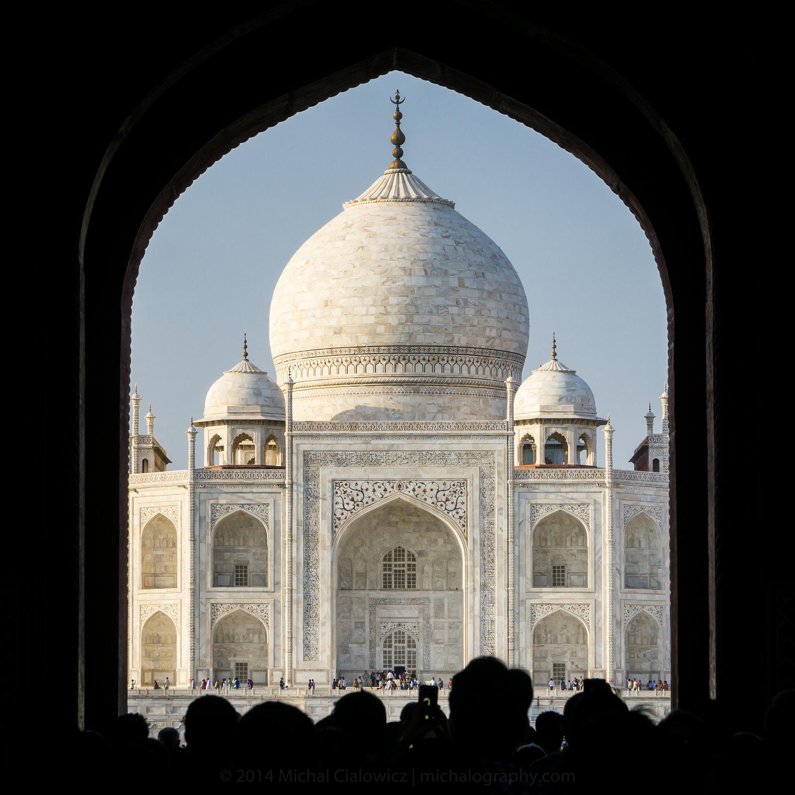 The Taj Mahal, India (Sony A6000 + 16-70mm f/4 OSS)