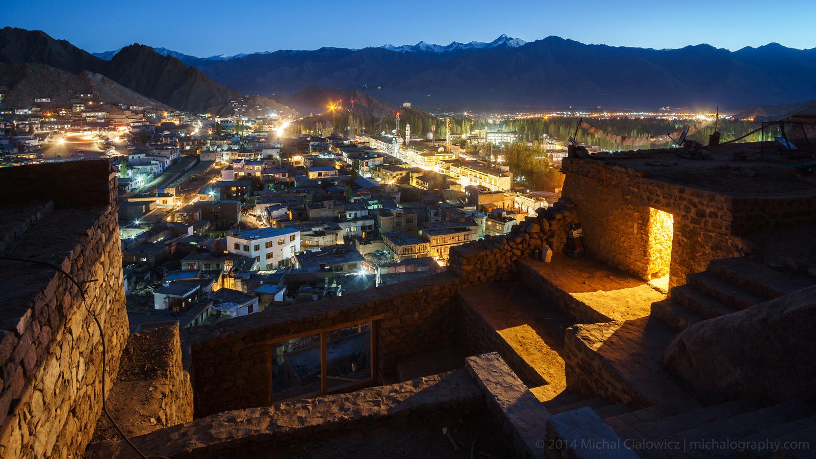 Night in Leh, Ladakh, India (Sony A6000 + Rokinon 12mm f/2.0)