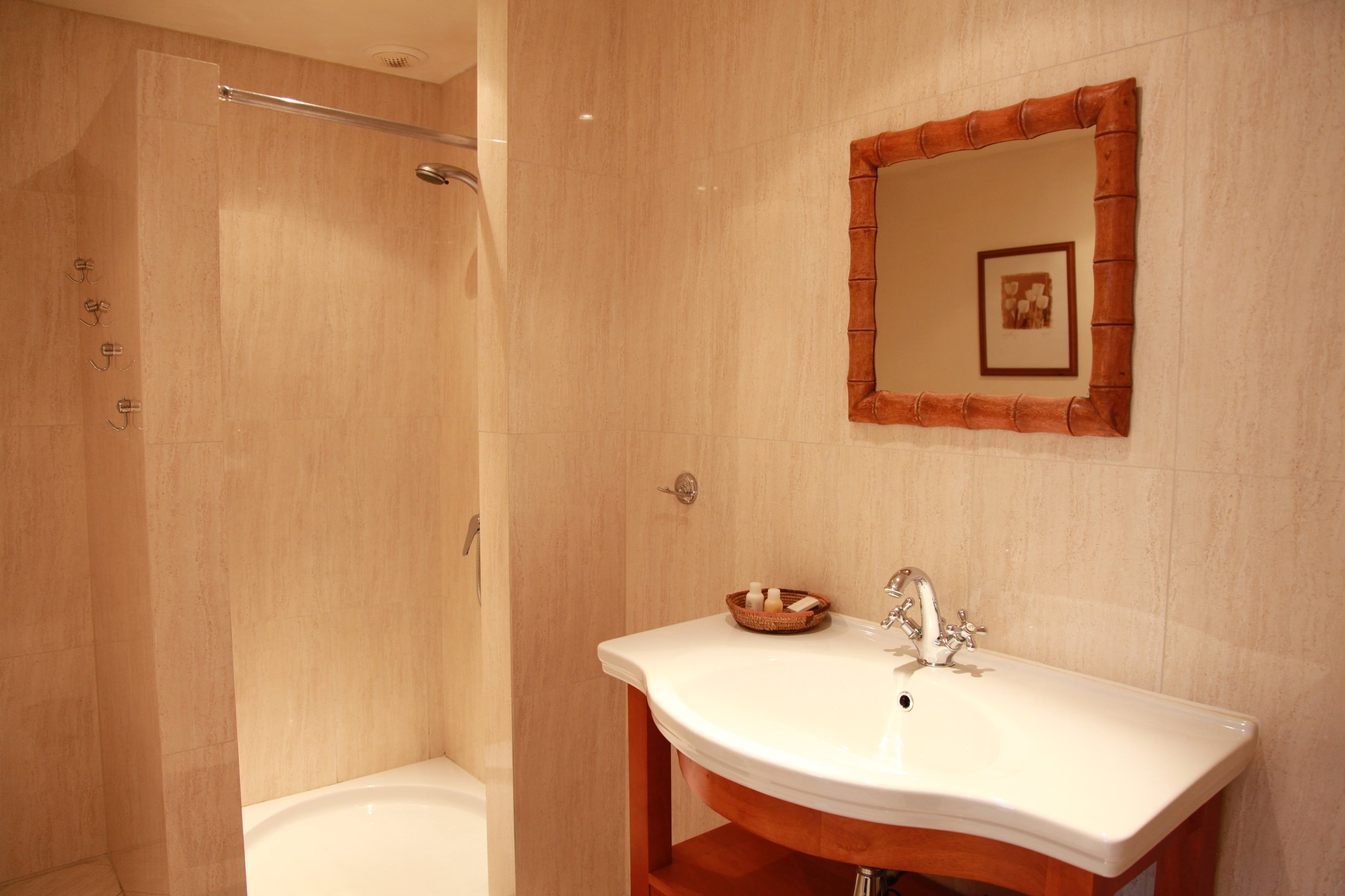 Bathroom 1 - With WC and shower