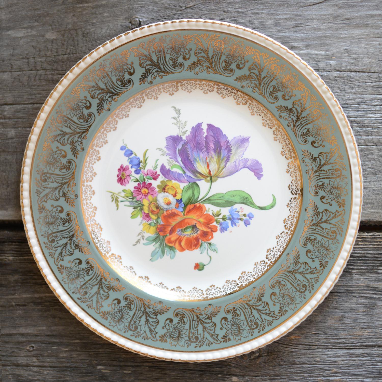 cobridge dinner plate - sage