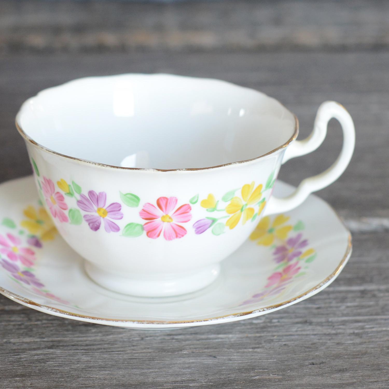 baskin tea cup and saucer