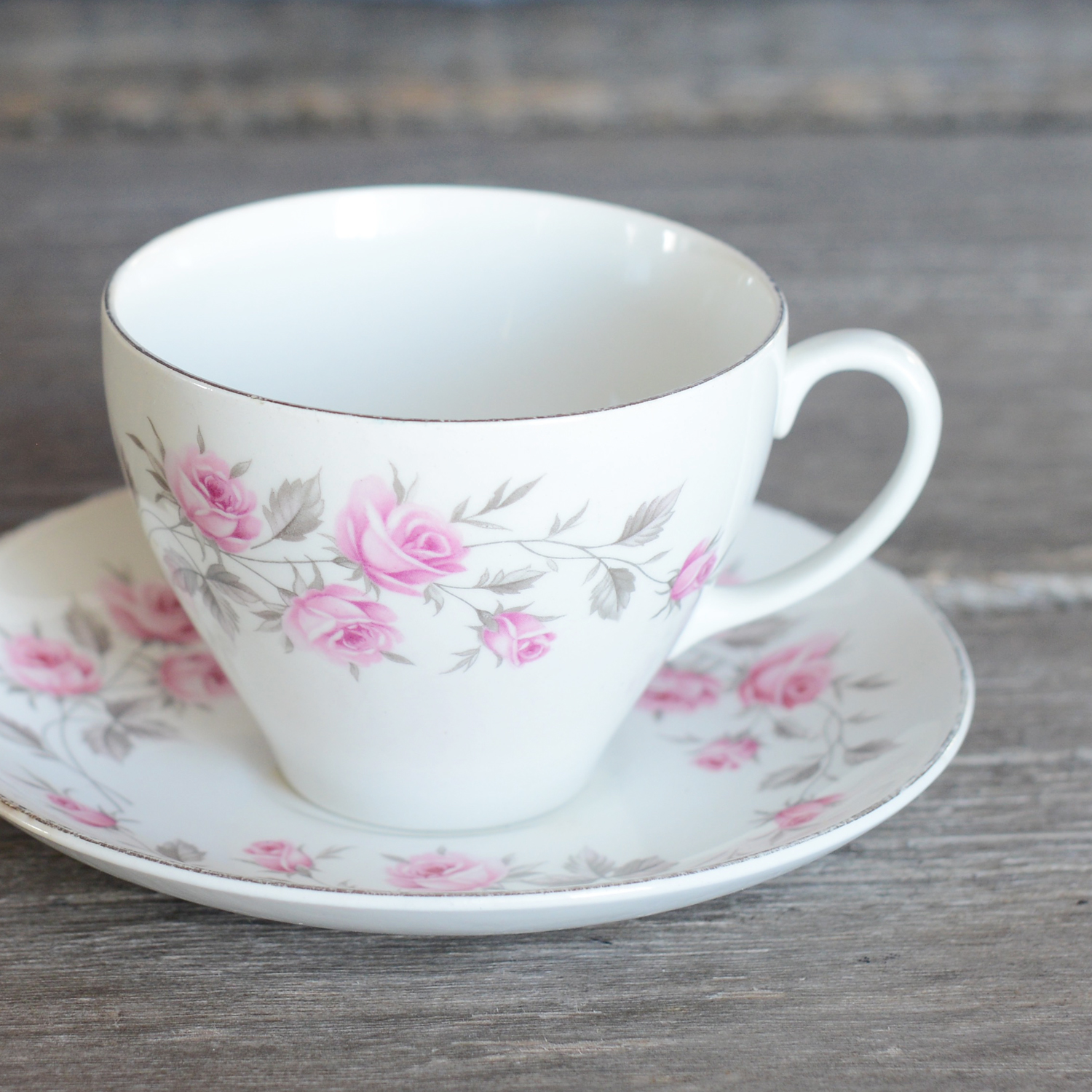 dowson tea cup and saucer