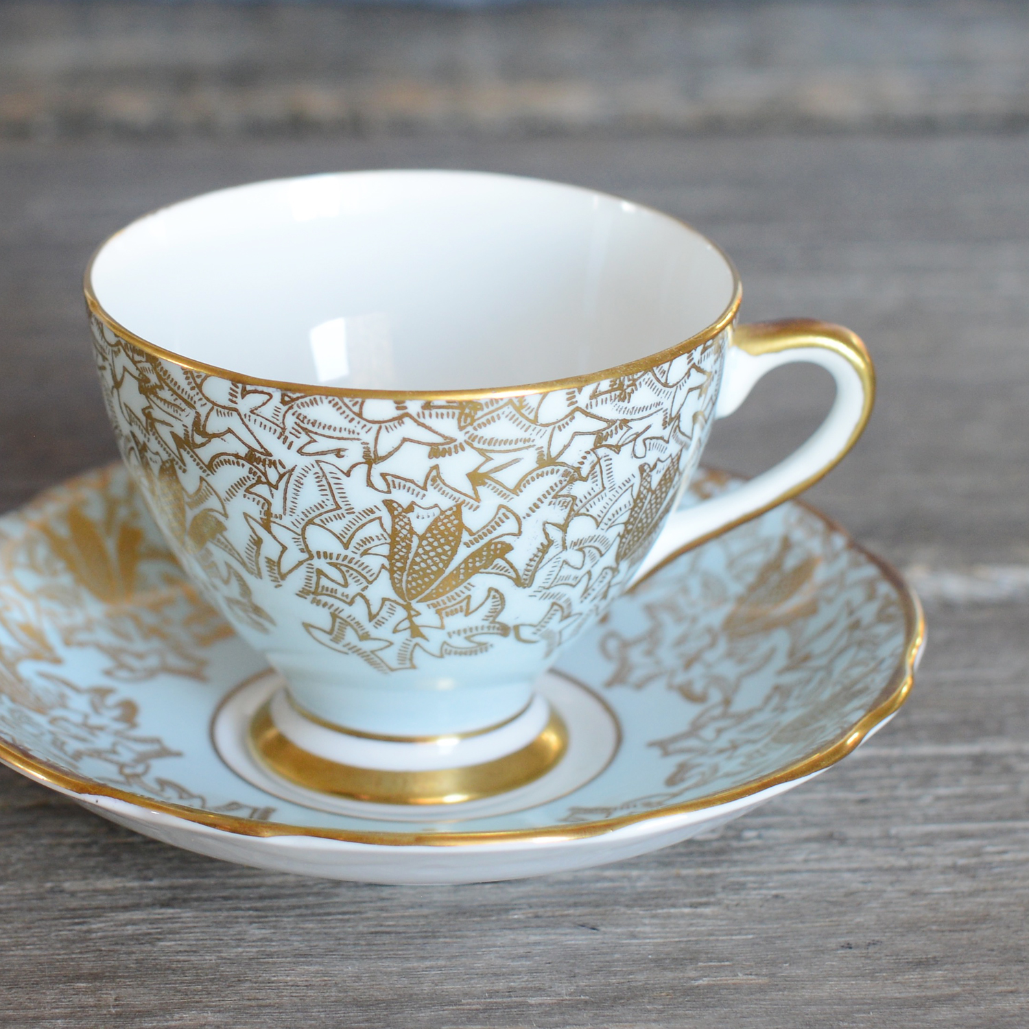 gladstone tea cup and saucer - 4 available