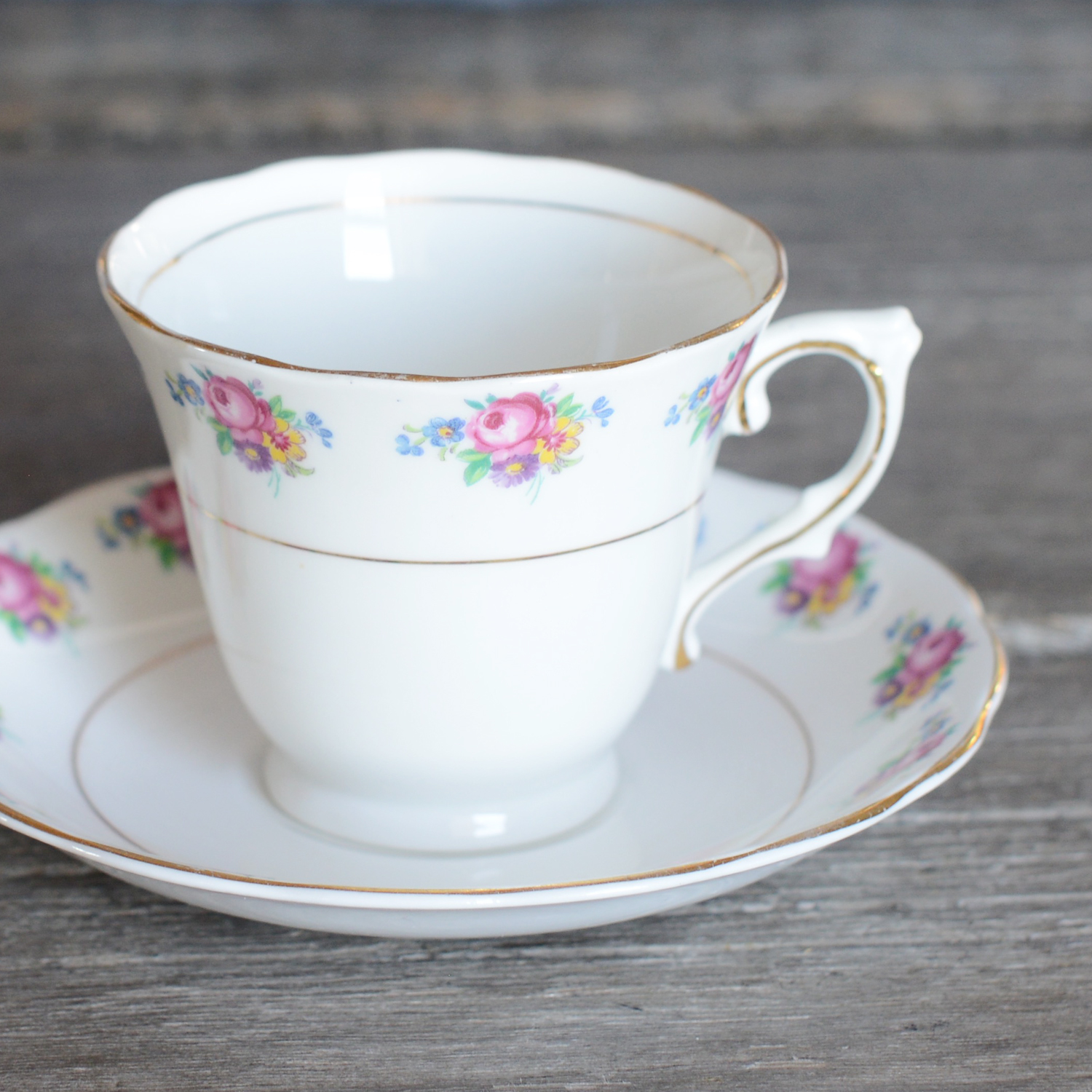 hailstone tea cup and saucer