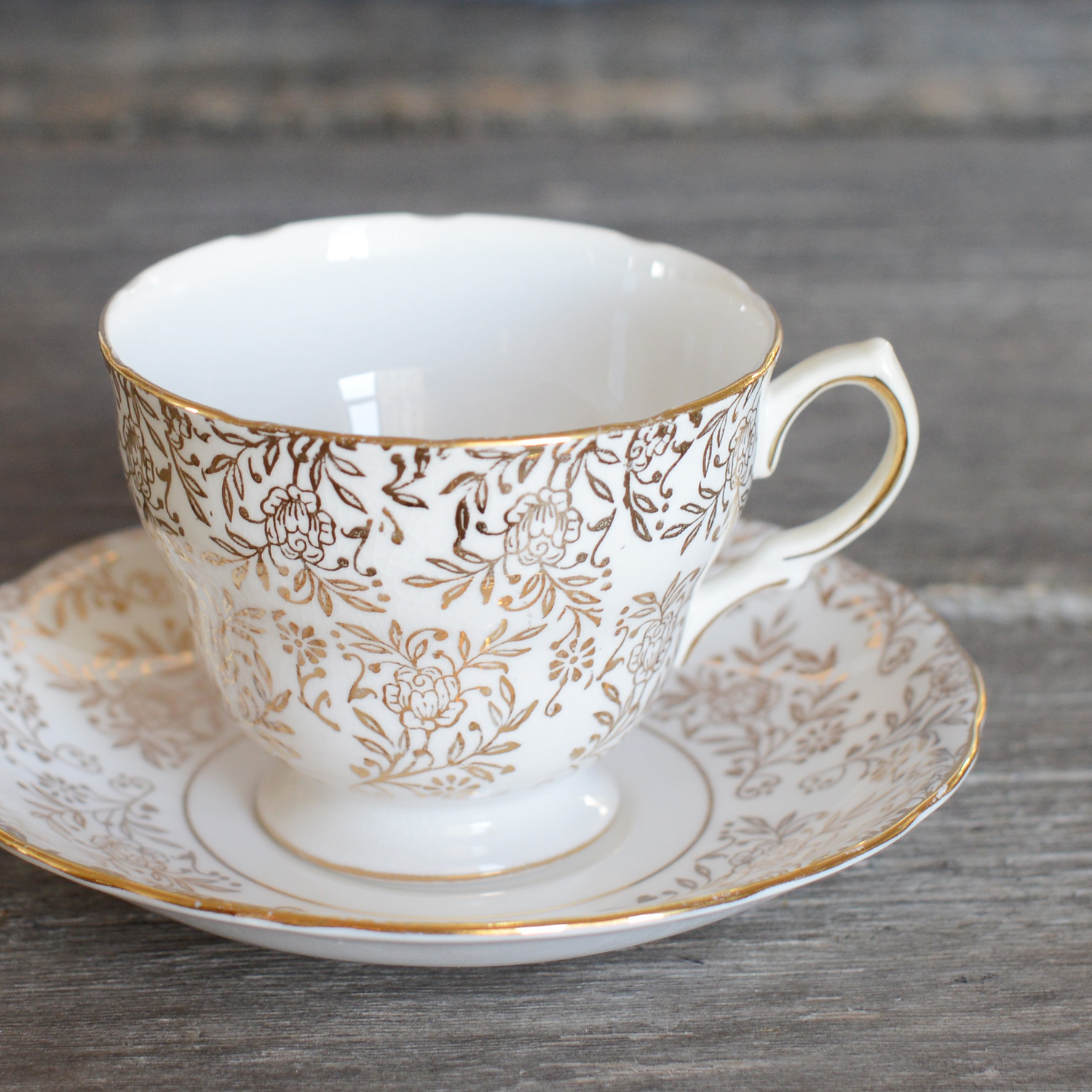 kingsley tea cup and saucer
