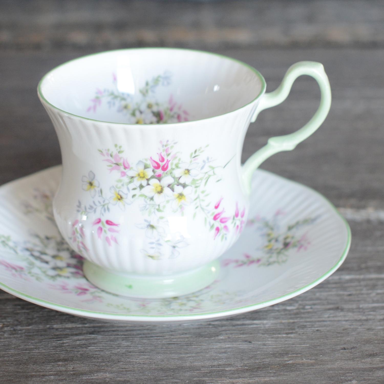 leek tea cup and saucer