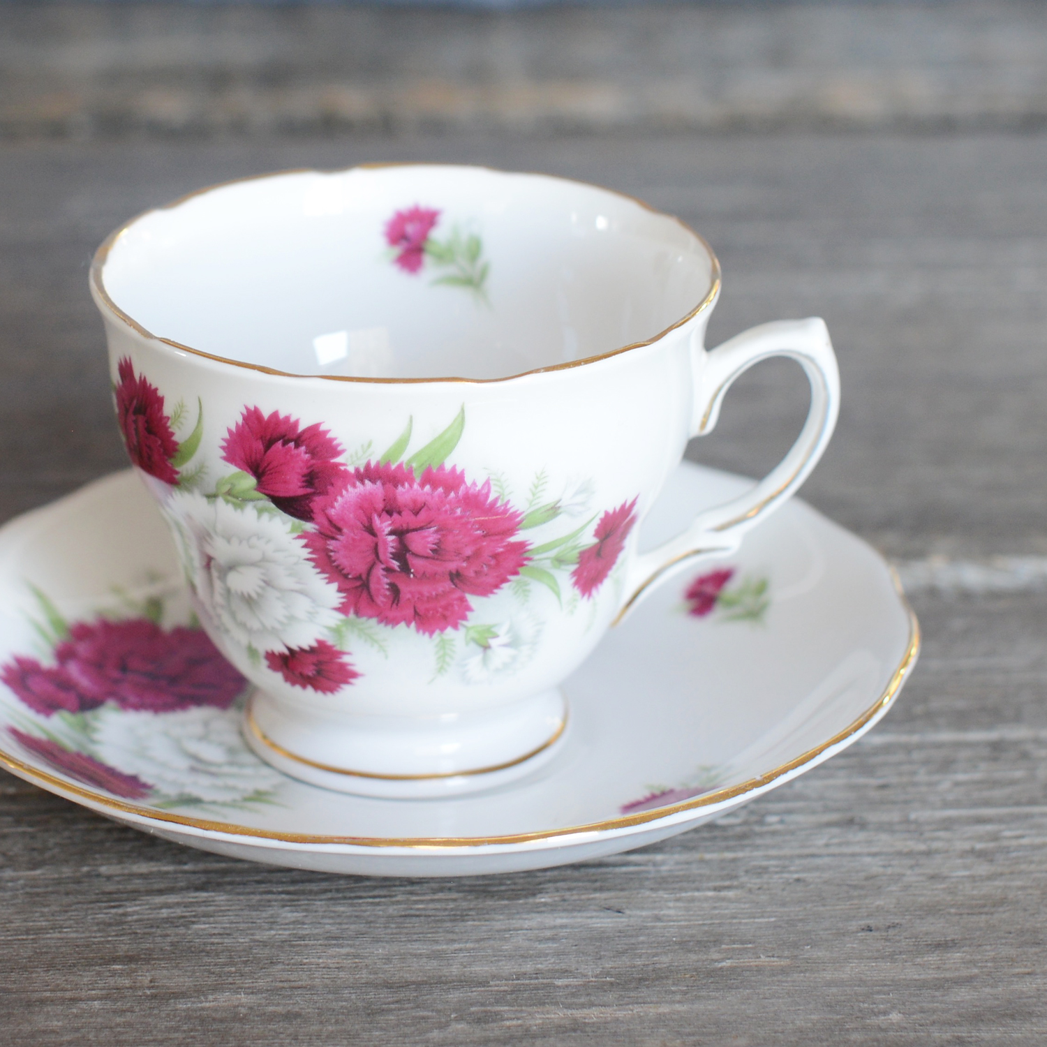 miah tea cup and saucer