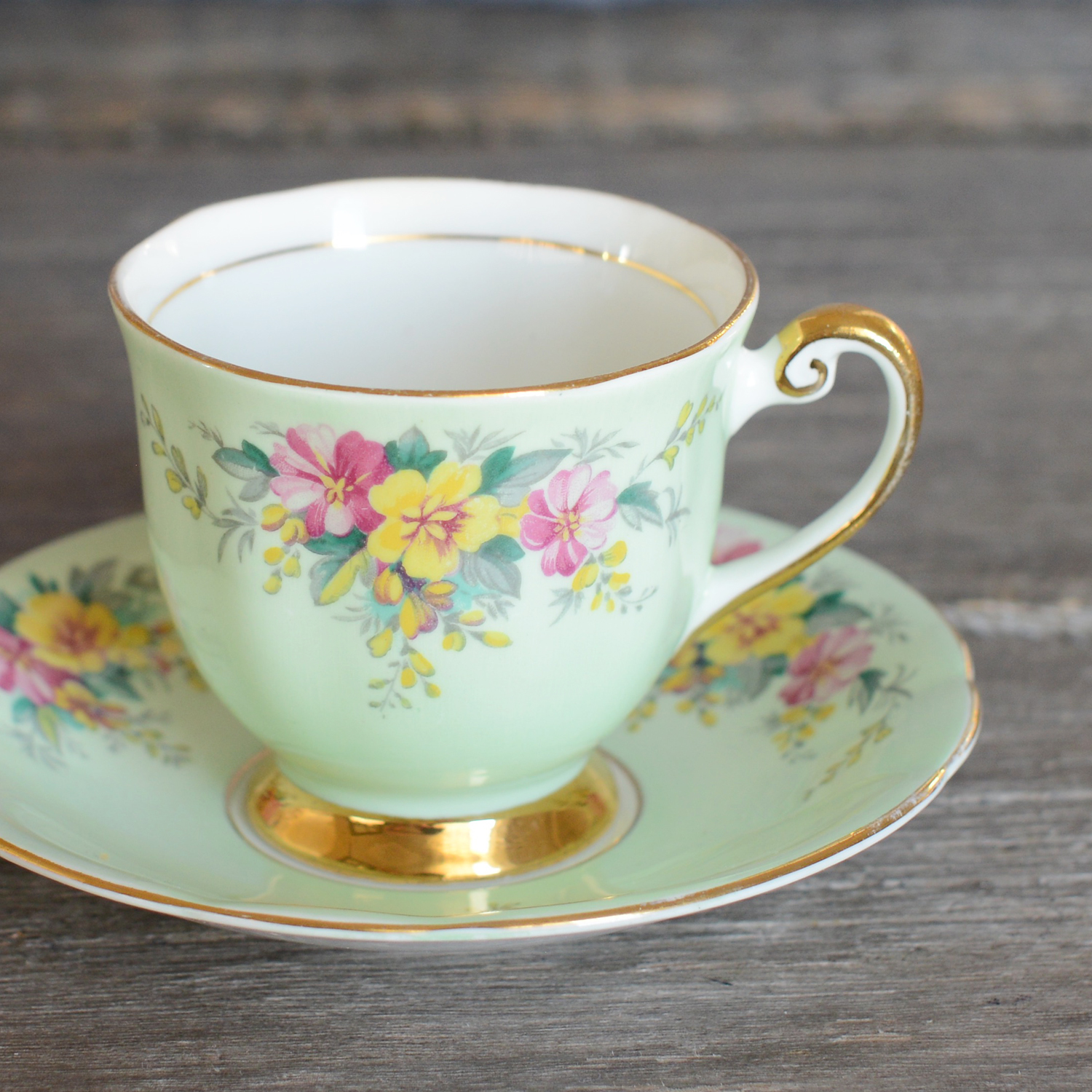 stockton tea cup and saucer