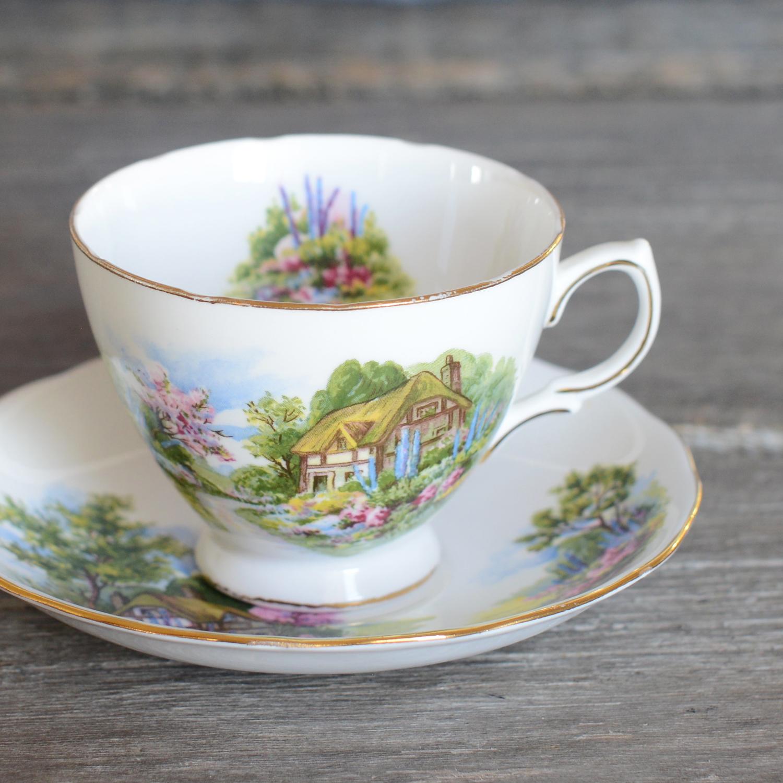summersgill tea cup and saucer
