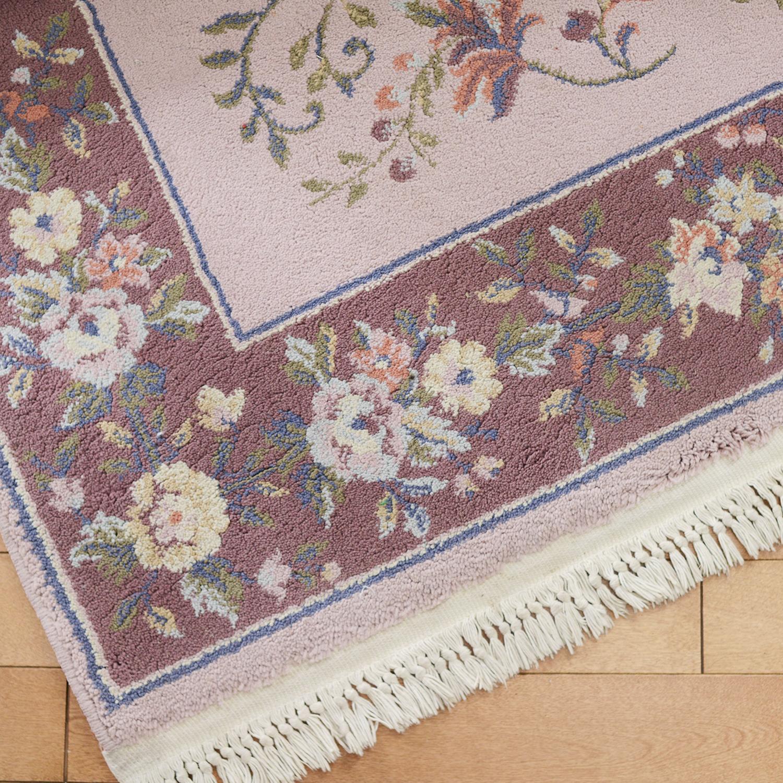 5x7 lilac/mauve area rug