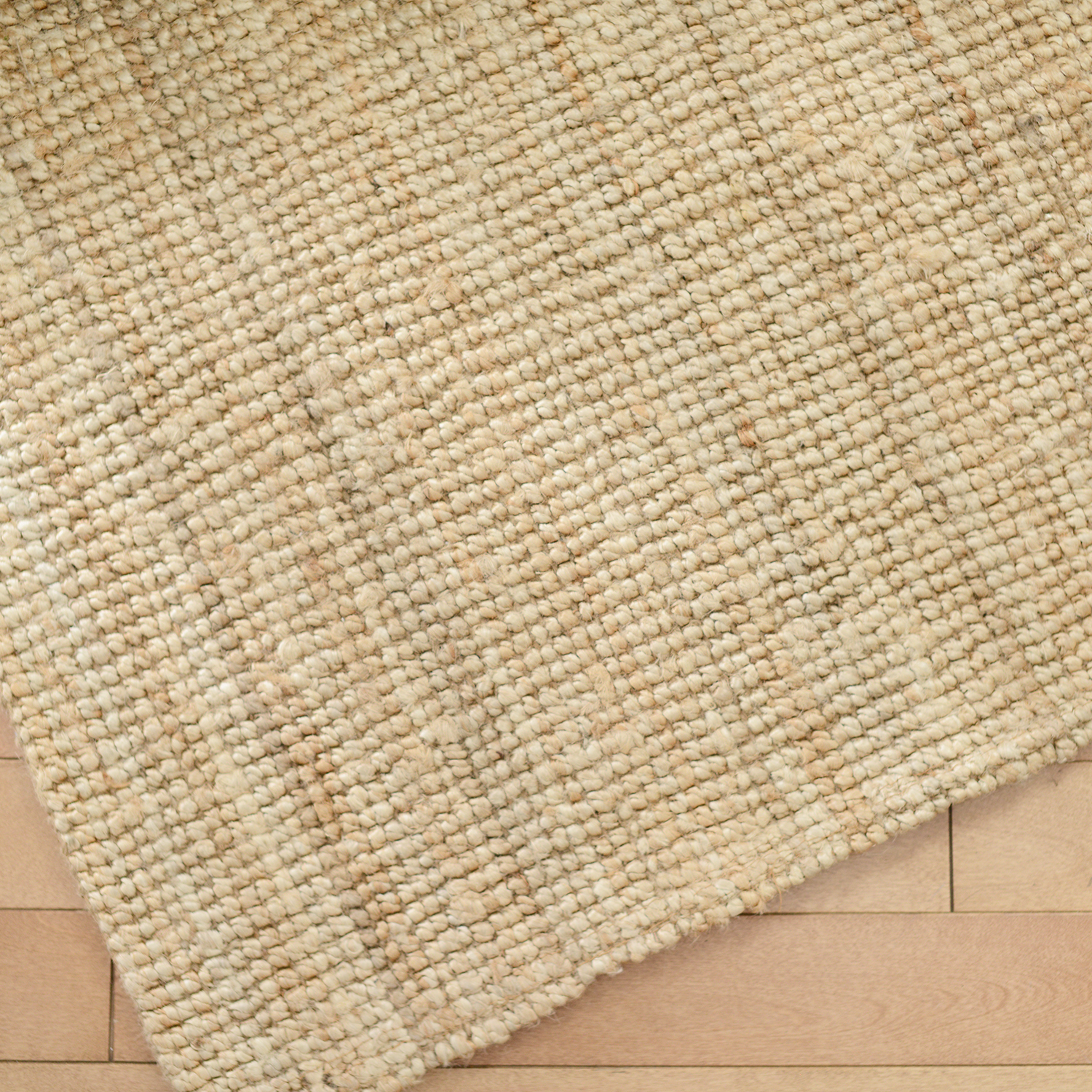 5x7 jute area rug - 2 available