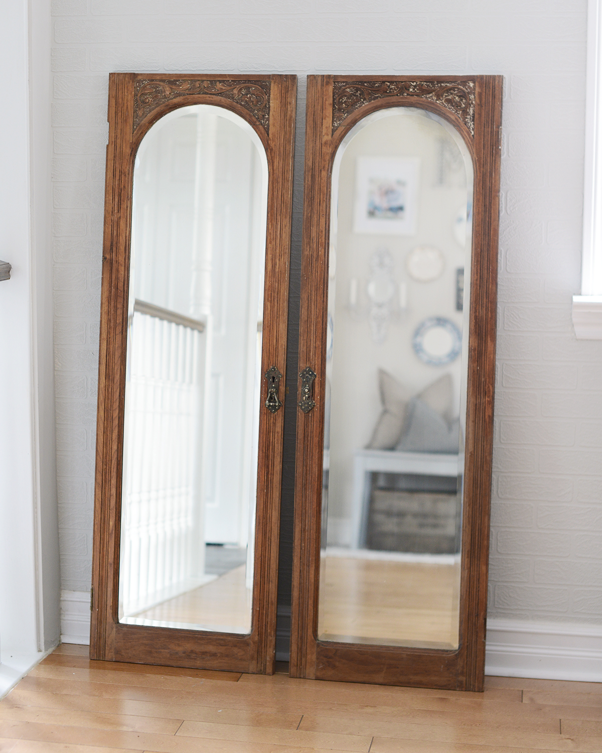 """13"""" x 48"""" clarence mirrors - 2 available"""