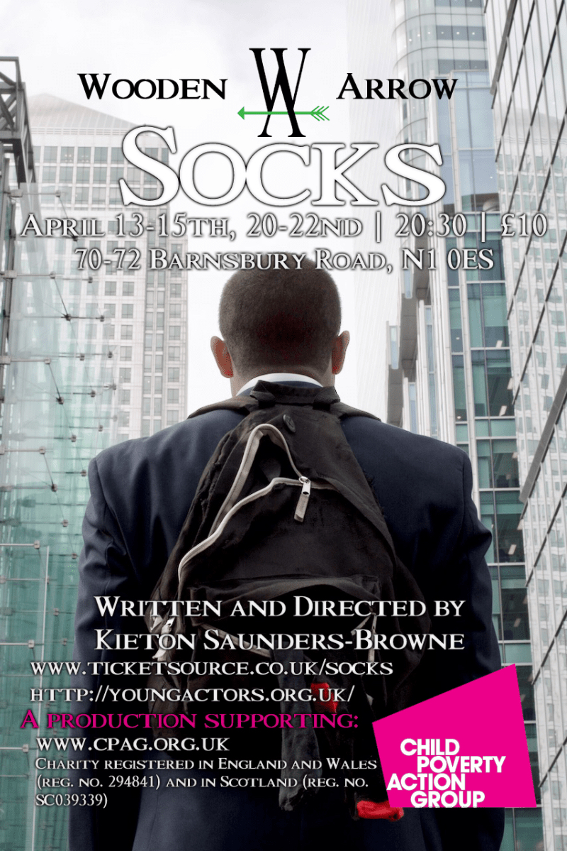 Socks, by Kieton Saunders-Browne