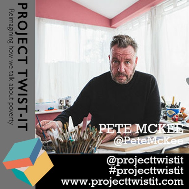For anyone close to Brighton!  #projecttwistit contributor and amazing artist @PeteMcKee is talking about his new book – Council Skies – with foreword by @maryohara1  June 15 – tickets free!  https://www.eventbrite.co.uk/e/council-skies-a-talk-by-artist-pete-mckee-tickets-61423218500 …  And check him out on our website: http://www.projecttwistit.com/pete-mckee