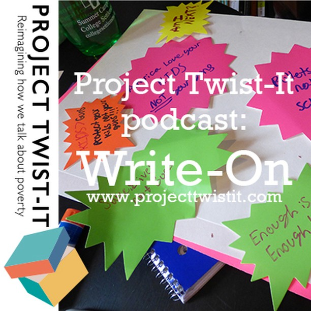 Our fantastic podcast is available NOW on itunes:  http://ow.ly/4CCW50usJcj  Check out our website – join the conversation #projecttwistit  Get in touch if you want to work with us – pticomms@gmail  @jrf_uk @jessicaraehuber @maryohara1 @MightyWriters @lileverywhere @ThinkNat