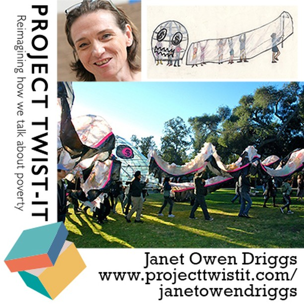 New on #projecttwistit We talk with Janet Owen Driggs Artist and creator of #octupy the #occupy octopus Find out more at http://www.projecttwistit.com/janetowendriggs  Get involved! Get in touch at pticomns@gmail.com Lots more to discover! @jrf_uk @maryohara1 @PeteMcKee @OccupyLondon ‏@Occupy_LA
