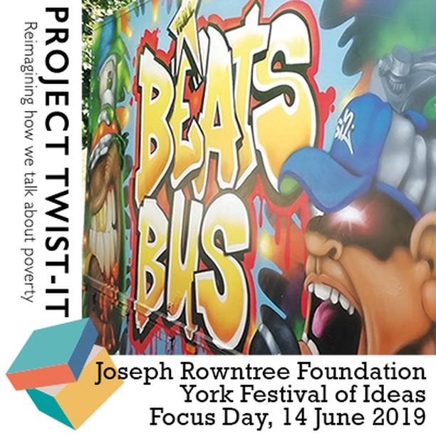 Two days to go!!! Friday June 14  @YorkFestofIdeas @jrf_uk #poverty focus day featuring #projecttwistit contributors  @billiejdporter @mahsudasnaith @ThatKerryHudson @bus_hull @ThinkNat @lhdgsn and more!  ow.ly/YWUr50ukvAZ  @redeyefeenix @mcallisterfilms @AbigailSPaul
