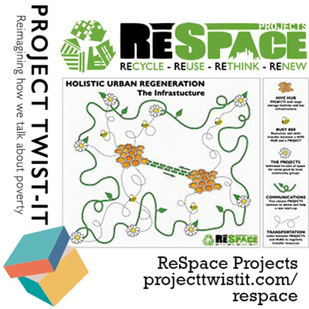 Great new content on #projecttwistit  We talked to Gee Sinha, Director of ReSpace Projects about their work to re-use disused space for the community.  Get inspired at  https://www.projecttwistit.com/respace  @jrf_uk @AbigailSPaul @maryohara1 @ReSpaceProjects @HiveDalston