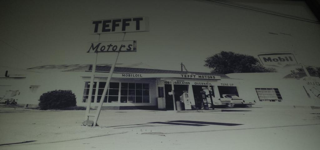 The GermanAutotec Building - Originally built as Tefft Motors. Pic is sometime in the 1950's