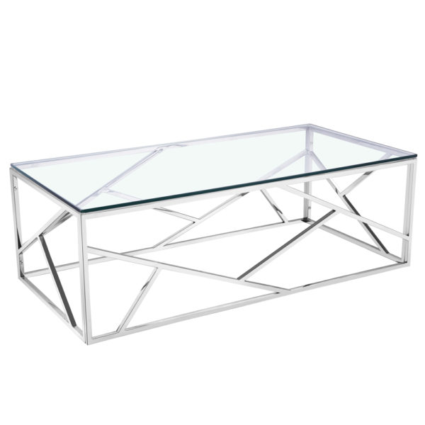 Venezia Silver Coffee Table Modern And Contemporary Home Furniture Store Toronto Rk Royal Design Furniture