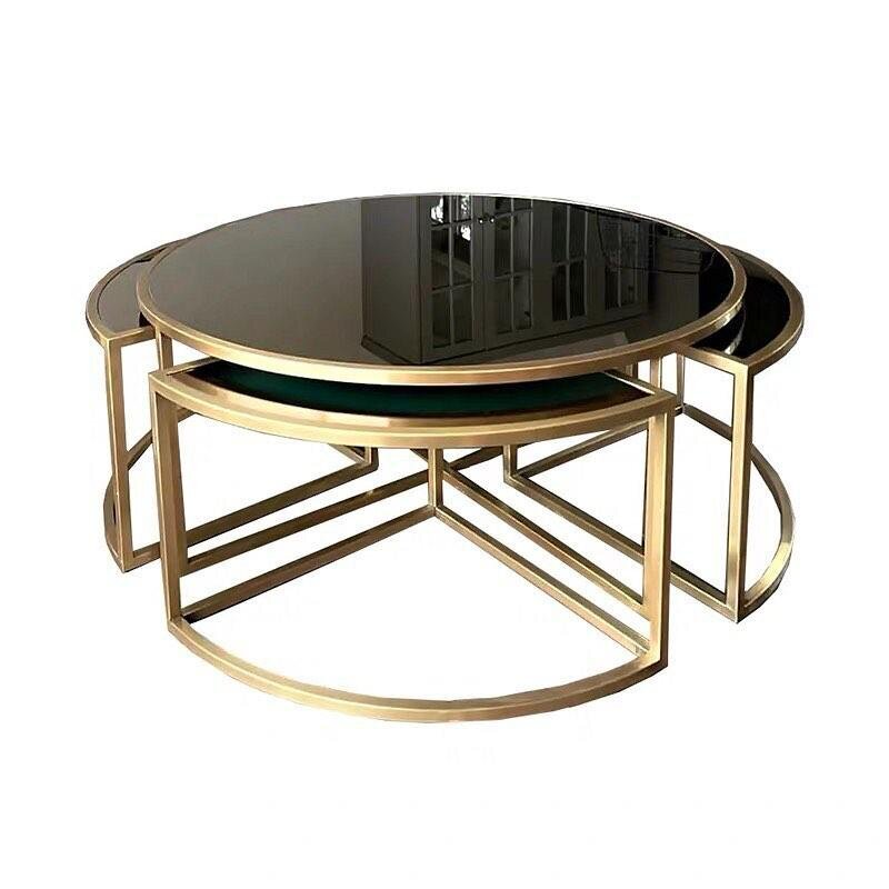 4Z Stainless Steel Modern End Table