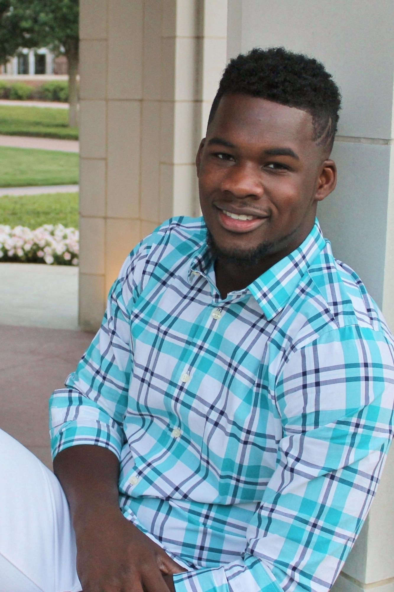 black guy looking at camera