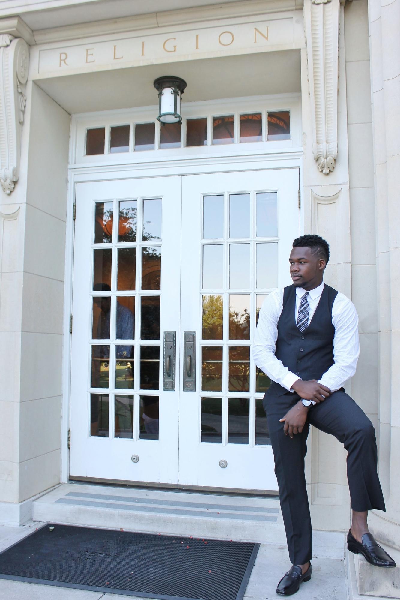 guy standing near doorway