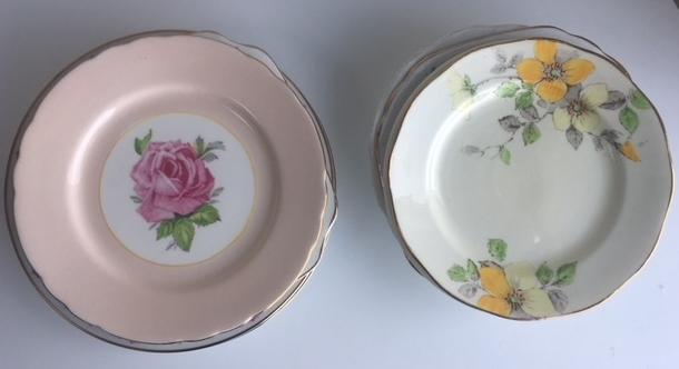 China Side Cake Plates