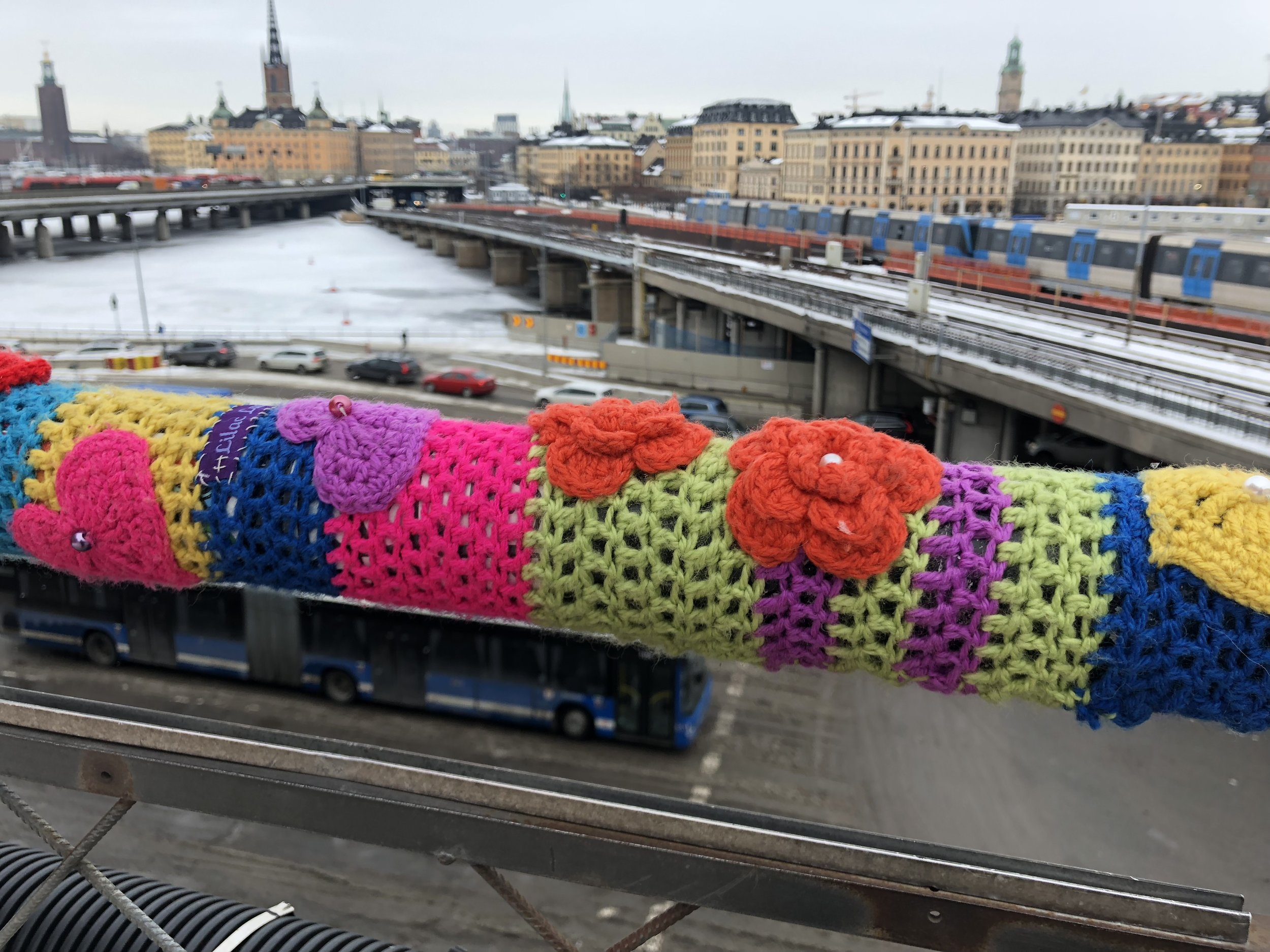 Stockholm i kylan.