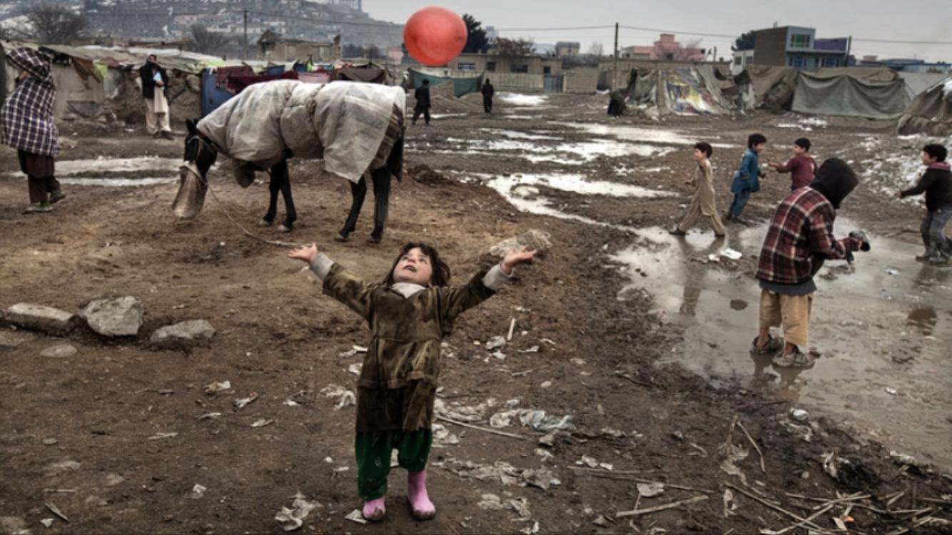 Paul Hansens bild från Irak.