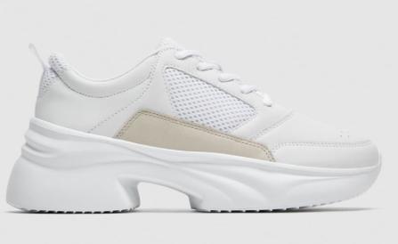 ZARA - white sneakers