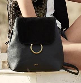 MISAKO - black backpack