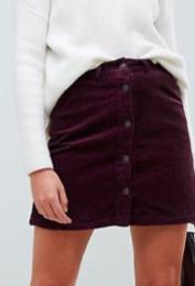 Vero Moda burgundy skirt