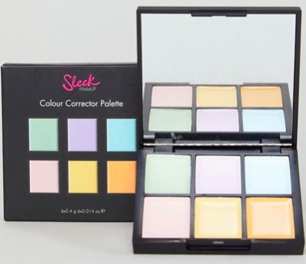 Sleek MakeUp color correcting palette