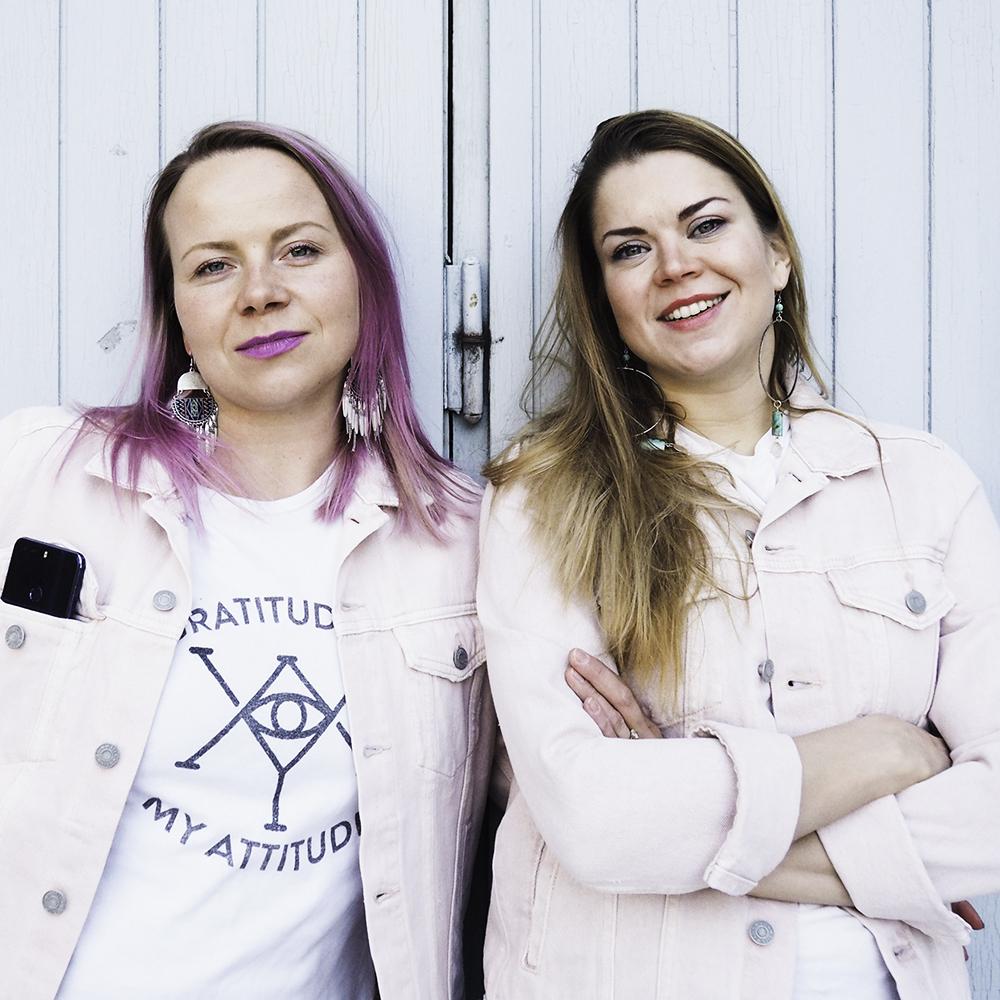 Kirsi Tikka & Tiina Mankki - Kuva: Inkeri Kallio