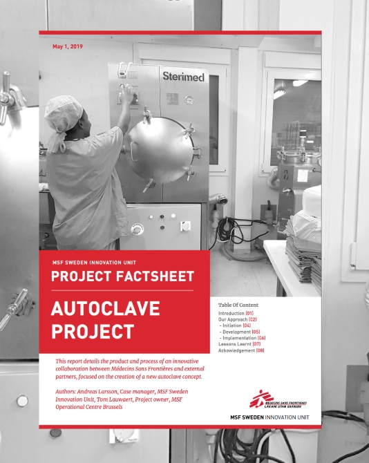 Autoclave Project Fact Sheet - Read on Here for the full 2019 Autoclave Report