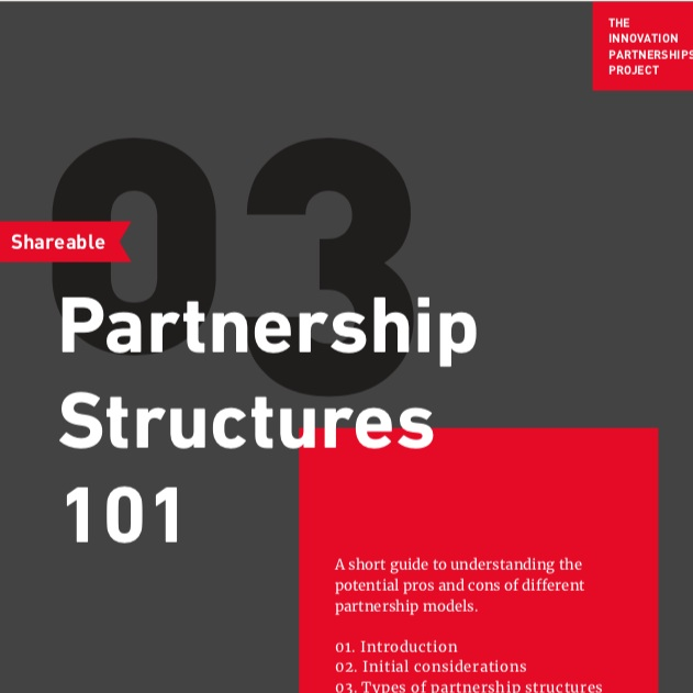 Partnership Structures 101