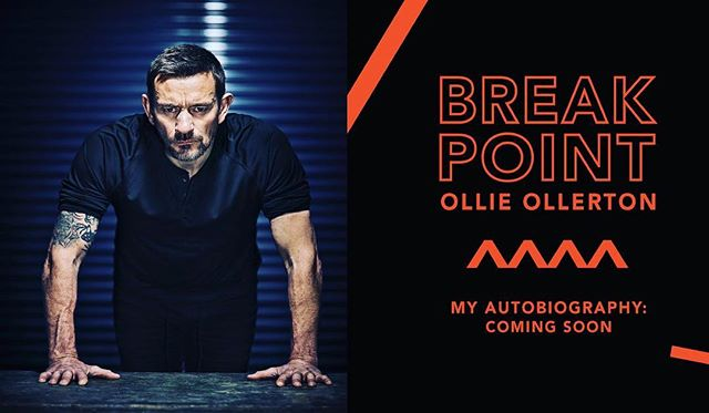 Incredibly excited to announce that @ollie.ollerton will be releasing his new book, Break Point, in May this year! A tell-all memoir documenting his remarkable life so far, Ollie focuses on 'break points' in life - where people refuse to accept their self imposed limits and go beyond what they think they are capable of, in his own words. We are very proud to work alongside him on this one - sure to be a cracking read! 📖 #BreakPoint #OllieOllerton #SAS