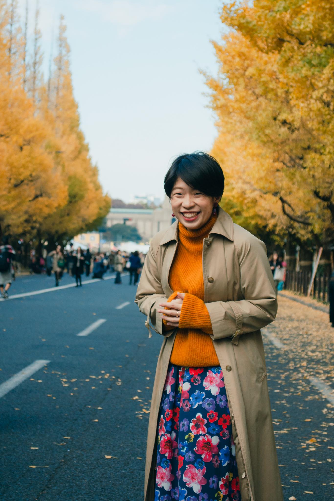 Fashion photoshoot Tokyo