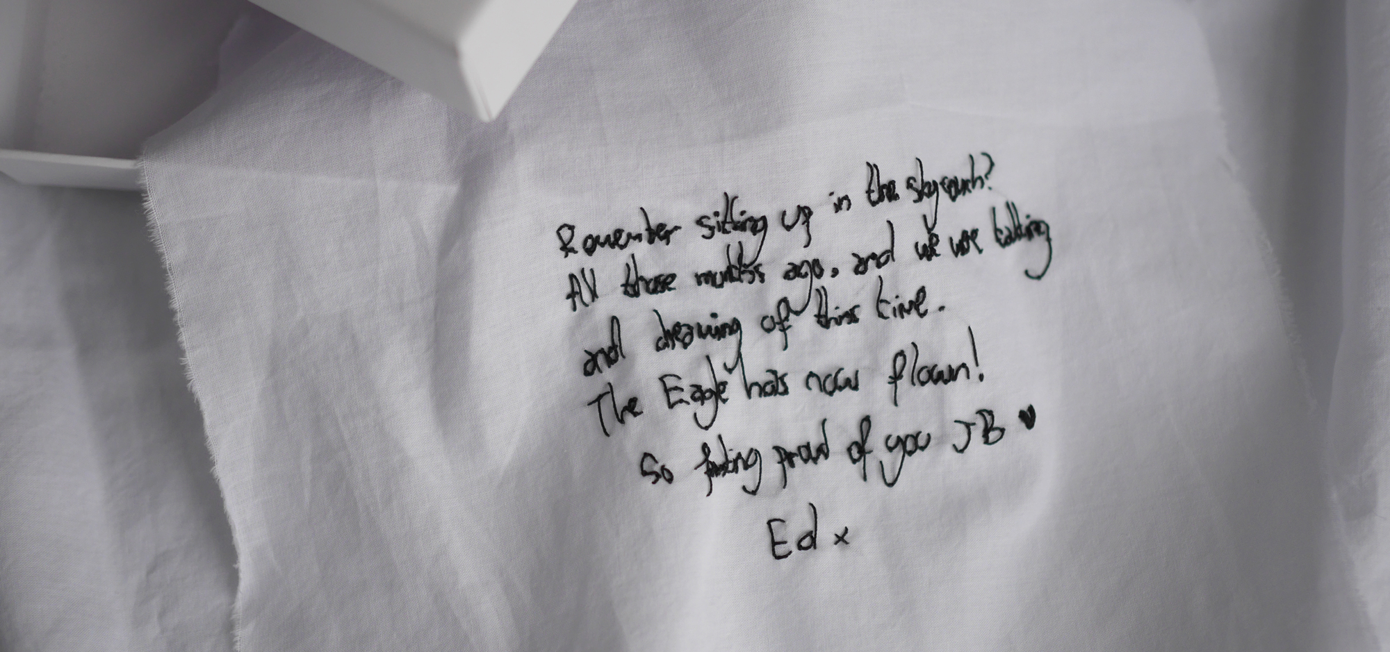 Ink & Thimble Love Letter Embroidery